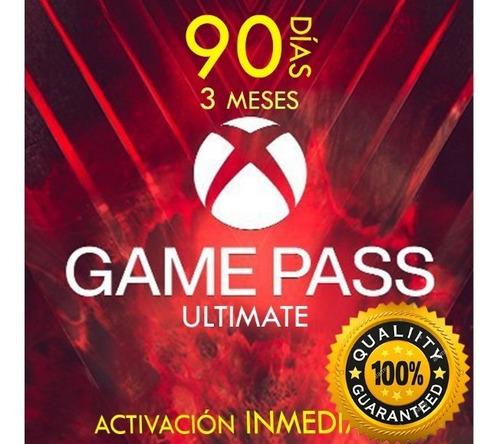 Xbox Game Pass Ultimate 3 Meses Promocion Nuevo Original