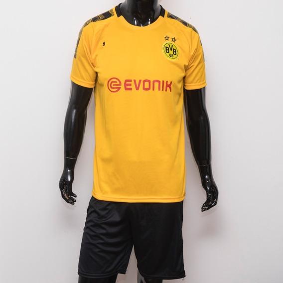 Conjunto Borussia Dortmund Camiseta Short Por Mayor Y Unidad
