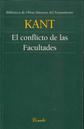 El Conflicto De Las Facultades - Kant - Losada