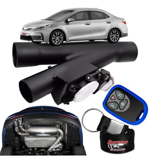 Difusor De Escapamento Esportivo Preto Fosco- Toyota Corolla