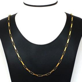 Cordão Ouro 18k Corrente Cartier Masculino 60cm 10 Gramas