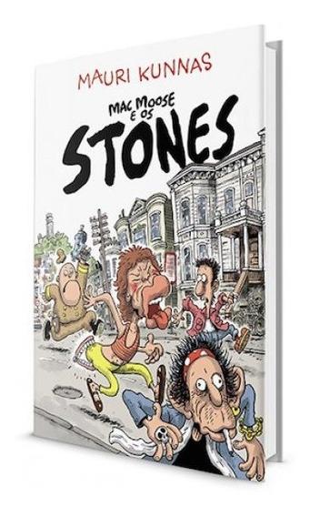 Livros Música Rock & Roll Mac Moose E Os Stones Frete Grátis