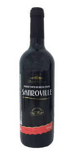 Vinho Tinto Suave Isabel/bordô Sanroville 750ml
