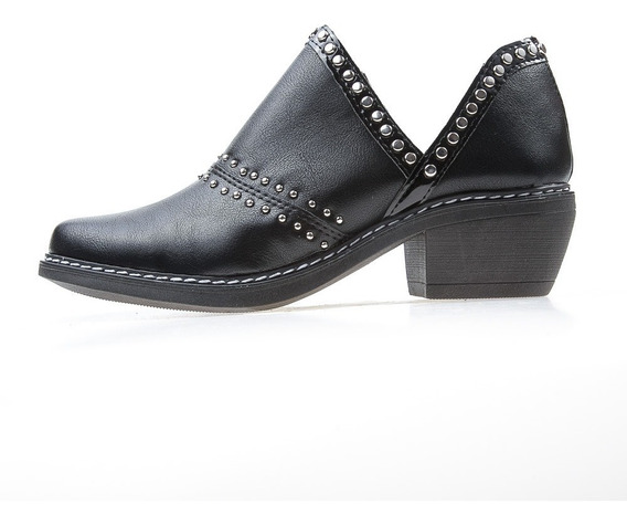Zapato Savage Dama Negro Gz-670