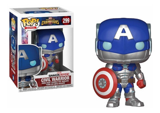 Funko Pop 299 Civil Warrior Contest Of Champions Marvel