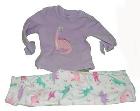 Pijama Para Niño Carters Dino Microfleec