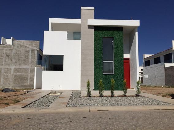 Estrena Casa En Fraccionamiento Privado Las Plazas