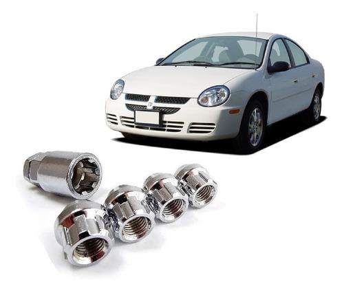 Imagen 1 de 6 de Tuercas De Seguridad 12x1.5 Dodge Neon 2000-2005 Anti Robo