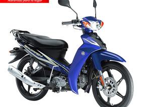 Moto Yamaha T110c Año 2019 110cc Caballito Ne/ro/az