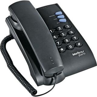 Telefone Com Fio Intelbras Pleno Cor Preto (sem Chave)