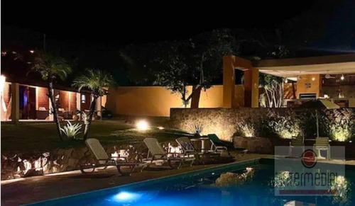 Chácara Com 5 Dormitórios À Venda, 2700 M² Por R$ 1.590.000,00 - Rancho Dos Arcos - Boituva/sp - Ch0632