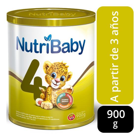 Nutribaby 4 Premium Leche A Partir De 3 Años Lata X 900g