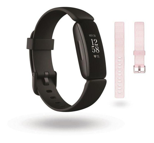 Smartband Fitbit Inspire 2 Negro + Correa Fitbit Para Inspir