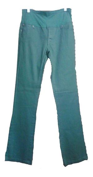 Pantalon Dama Embarazada Verde