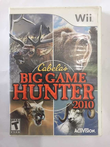 Big Game Hunter 2010 Nintendo Wii