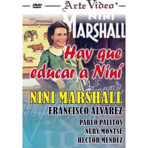 Hay Que Educar A Niní - Niní Marshall - Dvd Original