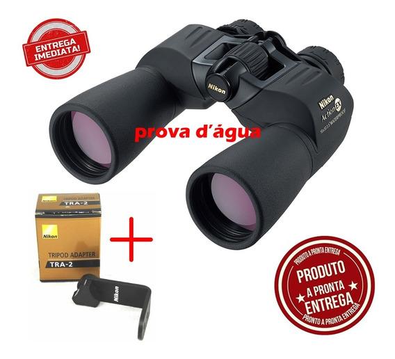 Binoculo Nikon Action Ex 16x50 Original + Adaptador Tripe