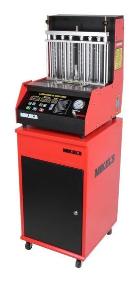 Laboratorio Inyectores 6 Fuel Injection Gabinete Mikels