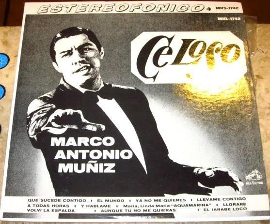 Lp Imp Marco Antonio Muñiz - Celoso (1967)