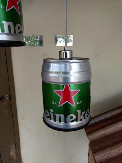 Luminária Heineken Completa
