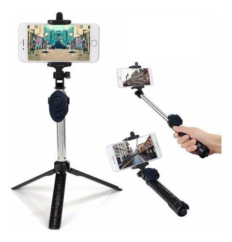 Bastão De Selfie Rotacão Monopé Tripé 3 Em 1 Envio 24 Horas