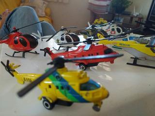 Coleção Completa De Aviões Em Miniatura De Aço