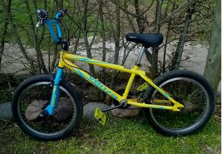 Bicicleta Bmx Venzo Inferno R20 Impecable Poco Uso. La Plata