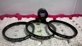 Kit Lente Filtro Cosmos Closeup +1 58mm +2 58mm + Groika Uv