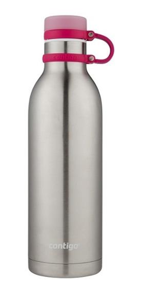 Botella De Acero Inox Matterhorn Rojo Berry 946 Ml Contigo