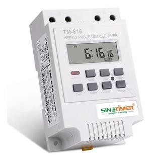 Timer Digital Temporizador Sinotimer 220v 30 Amperios