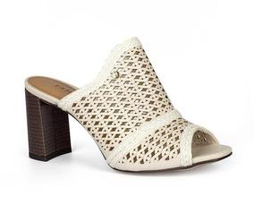 687af115e Sandalia Tanara Branca - Sapatos com o Melhores Preços no Mercado ...