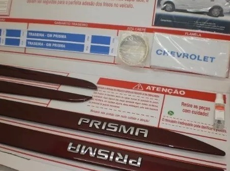 Jogo Friso Lateral Vermelho Carmim Personalizado 98550755 Gm