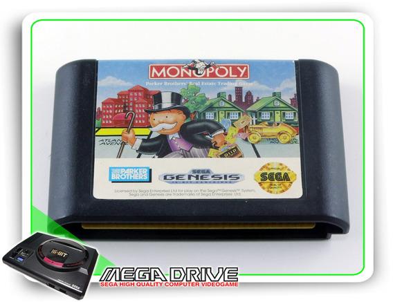 Monopoly Original Sega Mega Drive / Genesis