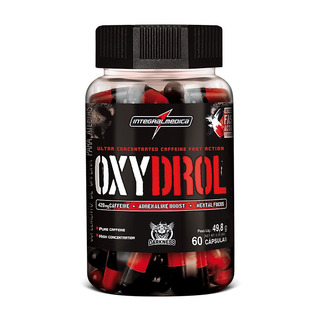 Oxydrol 420mg Cafeina 60caps - Integralmedica