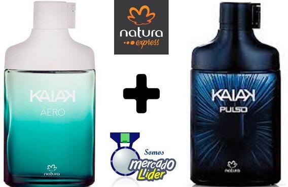 Kit Colônia Kaiak Aero + Kaiak Pulse - Natura Express