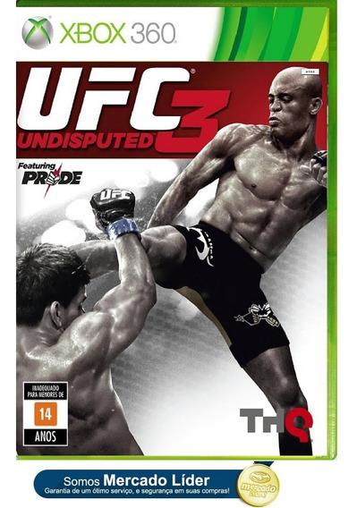 Ufc Undisputed 3 Original Para Xbox 360