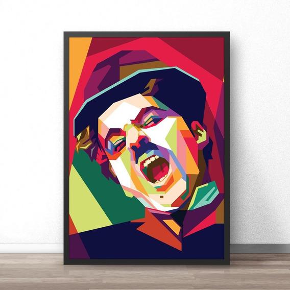 Quadro Decorativo - 44x34 - Charlie Chaplin - Moderninho