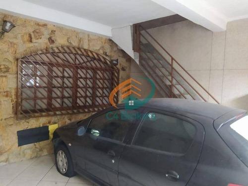 Imagem 1 de 26 de Sobrado Com 4 Dormitórios À Venda, 250 M² Por R$ 650.000,00 - Jardim Santa Cecília - Guarulhos/sp - So0875