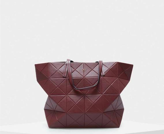 Bolso Shopping Origami Cremallera