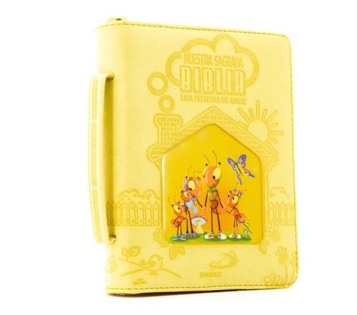 Imagen 1 de 2 de Nuestra Sagrada Biblia Católica Infantil