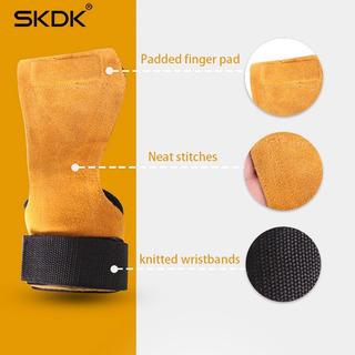 Luva Hand Grip Crossfit Pull Up Couro Anti-skid - Promoção