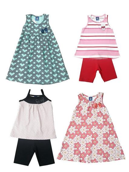 Vestidos E Conjuntos Infantil Tam 4
