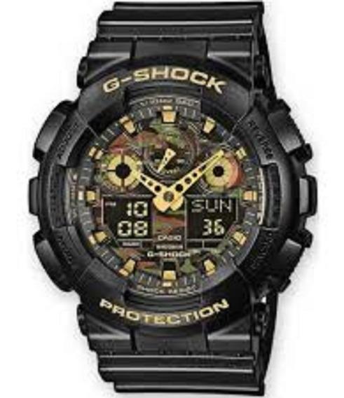 Relógio Masculino Casio G-shock Original Ga-100cf-1a9dr