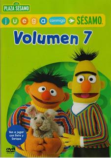 Plaza Sesamo Juega Conmigo Volumen 7 Siete Dvd