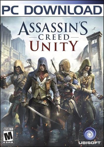 Assassin's Creed Unity Pc Original + Español + Online