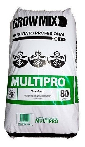 Terrafertil Sustrato Profesional Growmix 80 Litros