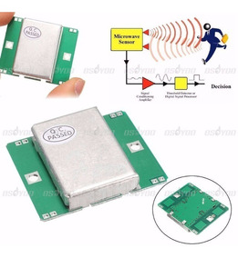 Hb100 Módulo Radar Doppler Sensor Movimento Microondas