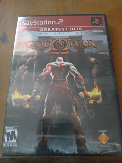 God Of War 2 Ps2 Original Lacrado