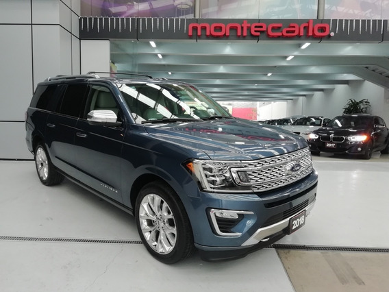 Ford Expedition Platinum 2018 Azul