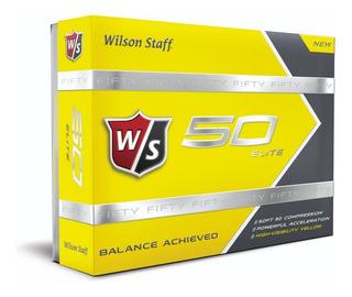 Pelotas De Golf Fifty Elite Amarilla Docena